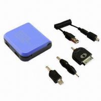 Wholesale External Power Backup for iPhone/Smart Mobile Phone Charger, 5V/1,000mA Input from china suppliers