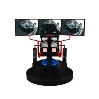 Wholesale 3 Dof Motion Simulator Car Racing Game Machine 9d Vr Electric 3 Screens from china suppliers