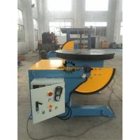 Elbow Rotary Welding Positioner Table Foot Pedal 1000KG Tilting  Capacity