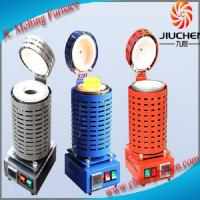 Wholesale 1-4kg Electric Gold Melting Furnace Mini Gold Melting Furnace with Crucible and Tongs from china suppliers
