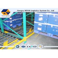 Wholesale Perishable Goods Gravity Feed Pallet Racking , Double - Deep Gravity Flow Shelving Systems from china suppliers