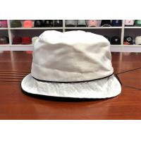 Wholesale Best quality customized white summer sun unisex fashionable fisherman bucket hats caps from china suppliers