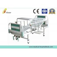 Quality CE Approved Manual 2 Crank Medical Hospital Beds With Covered Castors (ALS-M223) for sale