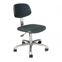 Wholesale Chrome Metal Leg 60cm Width 430*400mm ESD Chairs from china suppliers