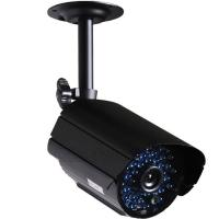 Buy cheap 700tvl Black Bullet Color Night Vision Camera , IR 35m For Hospitals from wholesalers