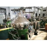 Wholesale High Oil Rate Biodiesel Separator , Centrifugal Oil Separator With Self Cleaning Bowl from china suppliers