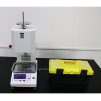 Wholesale Digital Display Rubber Melt Flow Index Testing Machine , Thermoplastics Plastic Melt Index Tester from china suppliers