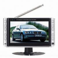 Wholesale 7-inch Color LCD TV with USB Jack, SD/MMC Card Reader and Power Consumption of 8W from china suppliers