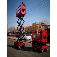 Wholesale Hot selling compact aerial work platform plataforma elevadora 6m self-propelled electric mini scissor lift from china suppliers