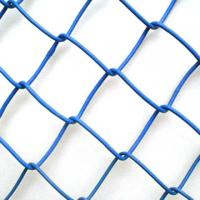 """Wholesale BWG18 blue chain link mesh , 2.4"""" , 3"""" , Plastic Coated Iron from china suppliers"""