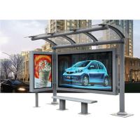 Wholesale 2015 hot sale bus shelter advertising from china suppliers