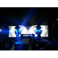 High Definition Led Backdrop Screen For Bar , Led Vedio Wall Stage Screen Background