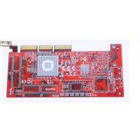 Wholesale Red Four Layer PCB FR-4 CEM-3 PCB, High Density Multilayer Printed Circuit Board from china suppliers