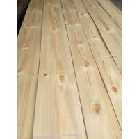 Quality Knotty Pine Natural Wood Veneers Knotty Pine Decorative Veneers for Furniture for sale