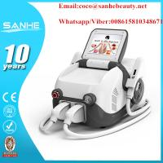China New Portable IPL SHR Wrinkle Removal / IPL SHR Hair Removal & Skin Rejuvenation Machine / permanently ipl shr for sale