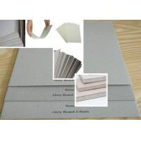 Wholesale Strong stiffness Grey Chip Board for making Refugees House / bookcover from china suppliers