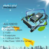 China 120W Universal Laptop DC Adaptor for Car use ALU-120D1D on sale