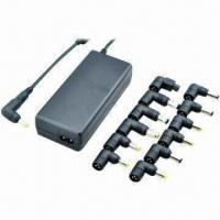 Wholesale Top 10 hot selling 90W Ultra Slim Universal Laptop Adapter with 13 tips DC Connectors, CE/RoHs Marks from china suppliers