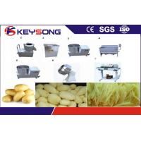 Wholesale Industrial Chips Making Machine , Big Capacity Potato Chips Cutting Machine from china suppliers