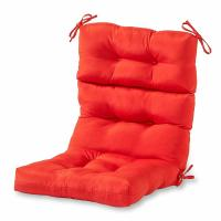 Wholesale Indoor/Outdoor High Back Chair Cushion floor lounge chair cushion For outdoor furniture from china suppliers