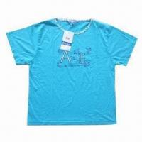 China Baby Short-sleeve T shirt with printed logo on sale