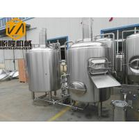 10HL Industrial Beer Brewing Equipment Stainless Steel Full Set Auto / Manual Control