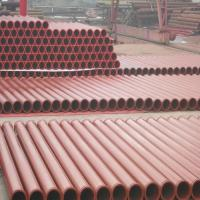China DN125 Concrete Pump Pipe / No20 45Mn Seamless Steel Pipes Hollow Section on sale