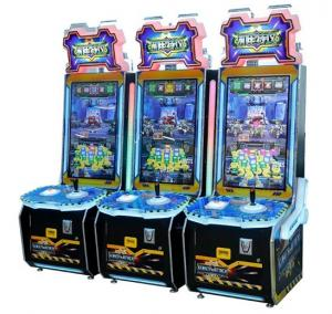 Wholesale Coin Operated Arcade Robot Attack Amusement Kids Electronic Shooting Redemption Video Game Machine For Sale from china suppliers
