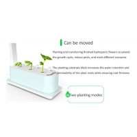 Wholesale 318mm Vegetable Planting 12V 9W Home Hydroponics Kit from china suppliers