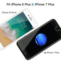 Bubble Free iPhone Tempered Glass Screen Protector 99% Transparency OEM