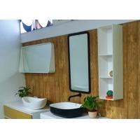 China Artificial Corner Bathroom Shelf Wall Mounted Home Hotel Indoor Use for sale