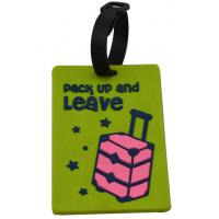 Wholesale PVC Rubber Luggage Tag from china suppliers