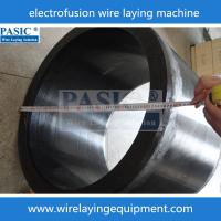 CNC PASIC wire laying machine for PE electorfusion fittings PC-160/315ZF laying wire