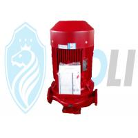 Vertical Red Single Stage Centrifugal Pump Low Noise For Fire Fighting