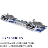 Wholesale I Type Glass Edging Machine , Glass Double Edger Line CE ISO Approval,Glass Double Edger from china suppliers