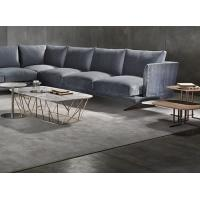 Wholesale Soft Living Room Fabric Modern Sectional Sofa With Solid Wood Frame Multi Seats from china suppliers