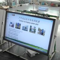 46'' outdoor advertising display LG screen 1500nits brightness used in  Commercial bus station
