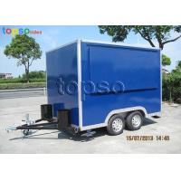 Wholesale Fast Mobile Food Trailer Heavy Duty Square Mobile Catering Trailer from china suppliers