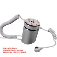 China COMER Hot sales anti-theft alarm mobile phone display security stand with alarm sensor cord for sale