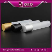 Wholesale wholesale small capacity 35ml roller bottle and 35ml plastic roll on bottle from china suppliers