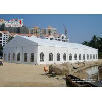 Wholesale White 2Nd Hand Clear Span Marquee , Outside Storage Tents 500 People from china suppliers