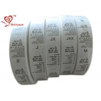 32 mm Eco friendly Custom Printed Ribbon Spool for packaging Heat Cut for sale