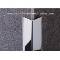 Wholesale Polished Stainless Steel Tile Trim/ Angle Trim , Stainless Tile Edge Trim20mm X 20mm X 2.44m from china suppliers