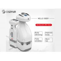 China HelloBody Handy Hifu Body Slimming Machine Belly Fat Removal Massager for sale