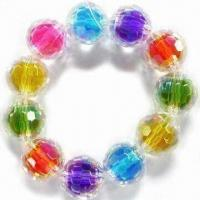 Wholesale Children's Jewelry Bracelet, Made of Acrylic Beads, Customized Designs are Welcome from china suppliers