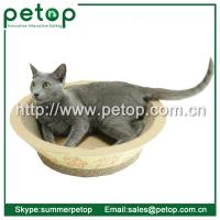 Wholesale Recycled paper Corrugated cat scratcher lounge from china suppliers