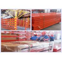 Wholesale Heavy Duty Push Back Pallet Racking With Customized Color / Capacity ISO14001 from china suppliers