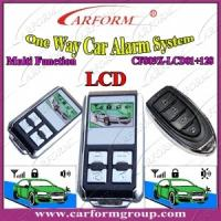 Wholesale Auto Alarms Systems Auto Accessories Electronics One Way Car Aalarm Double Socket CF809X from china suppliers