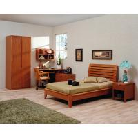Wholesale Classic Single bed design wooden bedroom furniture by Shenzhen factory for Residential and apartment project use from china suppliers