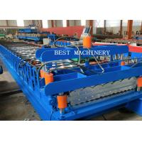 China Double Layer Corrugated Steel Sheet Making Roll Forming Machine on sale